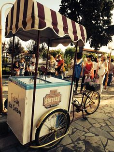ICE-CREAM BICYCLE FOR VAPTISM AND WEDDING!!!