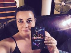 """Belinda Denzier: """"Thank you Paige Nick for the lovely postcard. I think it took longer to Jozi than to Pennsylvania! See you at Beefcakes on the 18th May l""""#DutchCourage"""