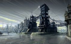 Artwork of Dishonored  #Gaming #Victorian #Steampunk