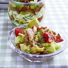 Artischocken-Tunfisch-Salat
