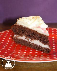 chocolate coconut cake - torta cioccolato e cocco Italian Recipes, Cheesecake, Favorite Recipes, Cookies, Sweet, Desserts, Food, Fashion, Crack Crackers