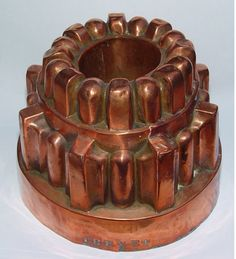 Copper jelly mould