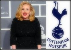 Adele waves a Spurs flag at her concert in London, press outlets says she's backing them for the title Concerts In London, Spurs Fans, Football Images, Tottenham Hotspur Fc, Outlets, Adele, Premier League, Stage, Soccer