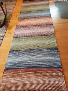 Rag Rugs, Weaving Patterns, Weaving Techniques, Scandinavian Style, Color Inspiration, Carpets, Pattern Design, Hand Weaving, Tapestry