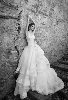 Abito da sposa 2015 con scollo a cuore Alessandra Rinaudo