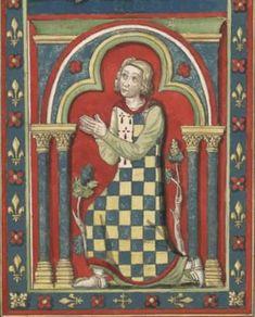 Pierre Ier de Bretagne (ca 1187-1250) Il participe en 1238-1240 à la croisade de 1239 en Terre sainte avec Thibaut IV de Champagne (1201-1253). Revenu en France, il remporte quelques succès maritimes contre les Anglais en 1242 et en 1243.  En 1248-1250, il participe à la croisade égyptienne de Saint Louis, blessé lors de la Bataille de Mansourah, il meurt en mer sur le chemin du retour. Il est inhumé dans la nécropole familiale de la maison de Dreux, l'Église abbatiale Saint-Yved de Braine