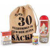"""Lustige Apotheke Geburtstagsgeschenk Set """"Bier Spa"""" zum 30. Geburtstag (4-teilig). Ein Willkommens-Gruß im Club der Alten Säcke. Mehr auf: www.ztyle.de"""