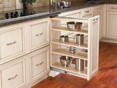 pull out kitchen drawers - Google Search