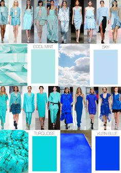 Trend Council: COLOR FORECAST - Spring 15 Blues