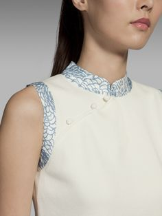 Qipao top by Shanghai Tang #cheongsam #qipao #chinesedress