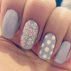 rose nail art! You have to try out....