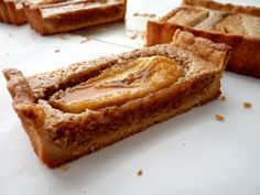 pate sucree crust, brown butter frangipane and caramelized banana tart; an indelible rendezvous of crispy crumbly tart shell, light and flavorful nutty filling and gooey bananas