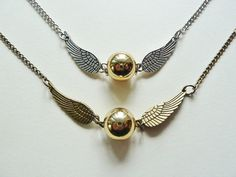 Hey, I found this really awesome Etsy listing at https://www.etsy.com/ru/listing/213628520/flying-golden-snitch-pendant-necklace
