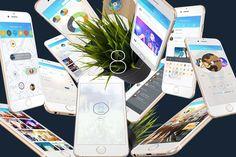 Quality - Mobile UI Kit by on Envato Elements Web Ui Design, Ui Kit, Mobile Ui, Templates, App, Stencils, Apps, Western Food