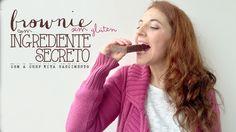 Brownie com Ingrediente Secreto- Sem Glúten