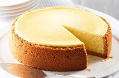 Supposedly this recipe came out to public by one of the chefs from the Cheesecake Factory, in any case, this is the Cheesecake, world's best New York style cheesecake that I have ever tried.(Baking Cheesecake New York) Cheese Cake Factory, The Cheesecake Factory, New York Style Cheesecake, Cake Recipes, Dessert Recipes, Dessert Food, Köstliche Desserts, Food Cakes, Food Processor Recipes