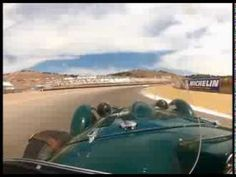 VIDEO: ▶ Allard J2-1578 Racing in Group 5B at the 2013 Rolex Monterey Motorsports Reunion - YouTube