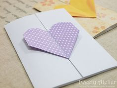 origami heart (tutorial)