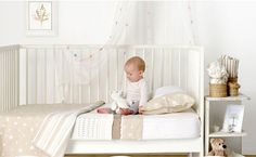 Cot linen that's Cute and Cuddly, and classic too