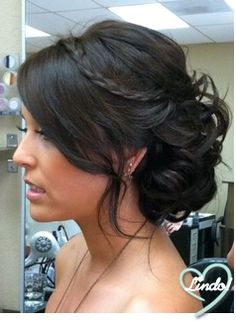 Madrinhas de casamento: Penteados de festa: coques Cute Girls Hairstyles, Hairstyles For Round Faces, Flower Girl Hairstyles, Short Hairstyles For Women, Bob Hairstyles, Straight Hairstyles, Wedding Hairstyles, Protective Hairstyles, Medium Hair Styles
