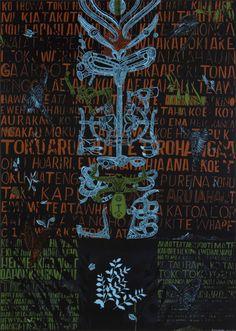 Shane Cotton-contemporary art-The Hanging Sky Polynesian Art, Maori Designs, New Zealand Art, Nz Art, Maori Art, Kiwiana, Art Programs, Art And Architecture, Traditional Art