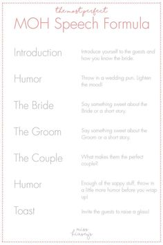 Ideas Wedding Quotes Maid Of Honor Brides planning maid of honor Ideas Wedding Quotes Maid Of Honor Brides Bridesmaid Speeches, Bridesmaid Duties, Bridesmaids, Bridesmaid Checklist, Sister Wedding Speeches, Bridesmaid Dresses, Wedding Dresses, Wedding Tips, Wedding Songs