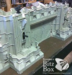 Tear Down That Wall- Imperial Fortress Conversion - Spikey Bits