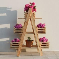 45 Easy DIY Woodworking and Pallet Projects for Beginners Woodworking is the skill that allows you to work on various wooden projects, such as doors and tables. Particularly, this is one of those skills . Wooden Projects, Pallet Projects, Wood Crafts, Diy Projects, Pallet Ideas, Garden Rack, Herb Garden, Garden Planters, Pallet Planters