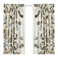 ikea leaf curtains | My beef with Ikea curtains is that, out of convenience, you have to ...