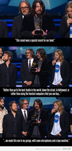 Music. You're doing it right! - in case some people missed it from the grammy this year.