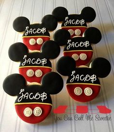 Mickey for Jacob | Cookie Connection