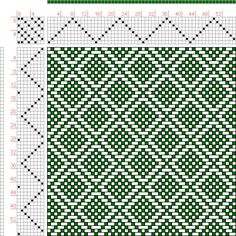 Hand Weaving Draft: Page 126, Figure 8, Donat, Franz Large Book of Textile Patterns, 8S, 8T - Handweaving.net Hand Weaving and Draft Archive