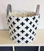 kereszt mintás tároló Toy Storage Baskets, Laundry Basket, Wicker, Decor, Decoration, Decorating, Laundry Hamper, Loom, Deco
