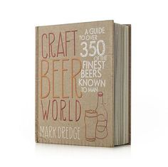 """""""Craft Beer World"""" I Crate and Barrel- great gift for all my beer lovers"""