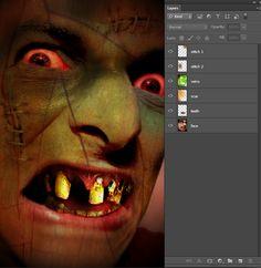 8 'Zombify Yourself' Photoshop Actions by nix1980nix ...