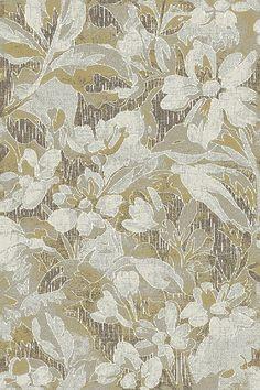 Dynamic Rugs Royal Treasure Amber/Mocha Floral Rectangle Area Rug