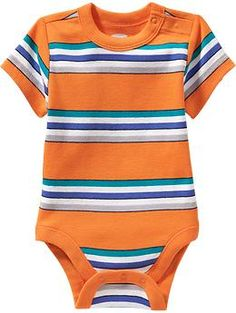 Patterned Bodysuits for Baby   Old Navy