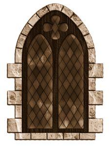 Castle Window, Castle Doors, Medieval Door, Medieval Castle, Gothic Windows, Vintage Windows, House Windows, Windows And Doors, Foto Transfer