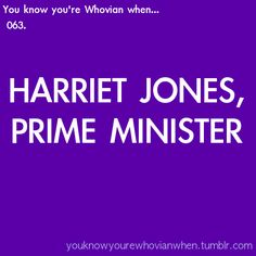 you know you're Whovian when...