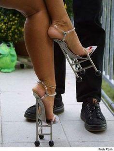 Os sapatos mais estranhos e inacreditáveis já vistos