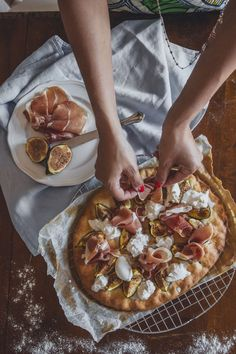 Focaccia fichi, crudo e burrata con KitchenAid - Taste of Style
