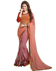 Saiveera Fashion New Arrivals Peach Colour Georgette Casual saree_Priya12 Saiveera Fashion is a Popular brand in Women's Clothing. Saiveera Fashion is produce many types of Women's Clothes like Anarkalis Salwar Suit, Patialas Salwar Suit, Straight Salwar Suit, Palazzos, Sarees, Churidars, etc. For any Query Contact/Whatsapp on +91-8469103344.