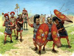 Roman Republican Legionaires