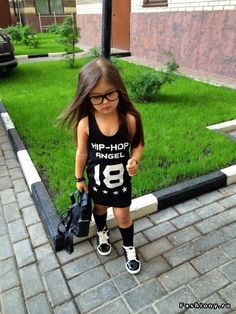 Маленькая модница Ариела Самойлова / оксана самойлова и ее семья