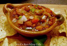 warm bean dip / Salsa Frijoles De Olla