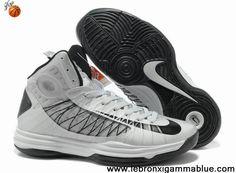 Buy New Wolf Grey Black Nike Lunar Hyperdunk 2013 Fashion Shoes Store