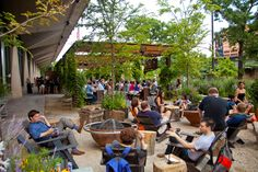 shipping container beer garden - Google Search
