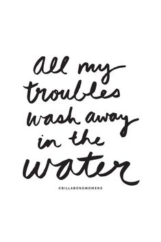 all my troubles
