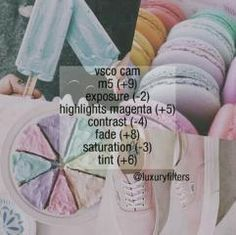 M5 +9 Exposure -3 Highlights Magenta +5 Contrast -4 Fade +8 Saturation -3 Tint +6