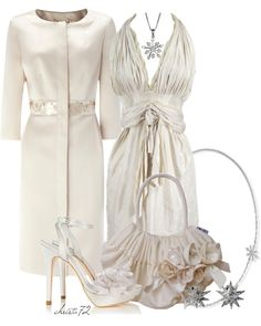 """Winter White"" by christa72 on Polyvore"